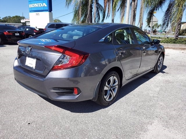 2018 Honda Civic Sedan LX CVT In Tampa Bay, FL   Crown Honda